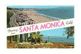 Greetings from Santa Monica  California