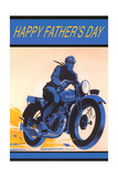 Happy Father's Day  Motorcycle