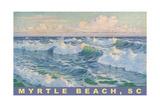 Waves at Myrtle Beach
