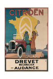 Ad for Twenties Citroen