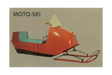 Moto-Ski  Early Snomobile
