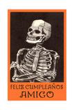 Feliz Cumpleanos  Skeleton
