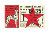 Ticket to Dog Show