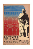 Travel Poster for Vicenza