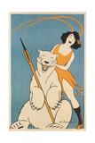 Laughing Woman and Polar Bear