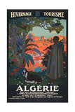 Algeria Travel Poster