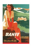 Banff Travel Poster