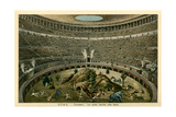 Rome  Italy  Illustration of Spectacle in Coliseum