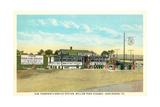 Sam Thompson Service Station  Huntingdon  PA