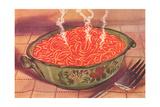 Steaming Bowl of Spaghetti