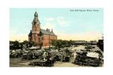 Early City Hall Square  Waco