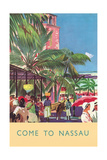 Nassau Travel Poster