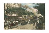 Vintage View of Boulevard Des Italiens