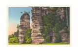 Natural Chimneys  Mt Solon