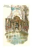 Medici Fountain  Luxemburg Park