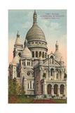 Sacred Heart Basilica  Montmartre