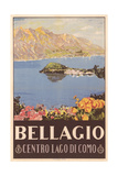 Bellagio Travel Poster
