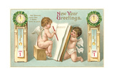 Vintage Greetings  Angels