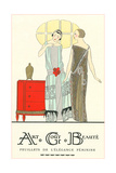 AGB French Fashion Illustration