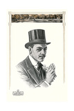 1910s Dunlap and Co Man's Hat Illustration