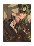 Naked Cabaret Woman