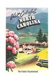 North Carolina Travel Poster