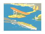 Vintage Pontoon Plane