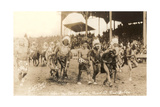 Indians in Wild West Show