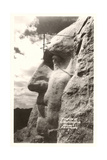 Washingiton's Profile  Mt Rushmore