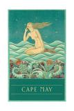 Cape May  Listening Mermaid