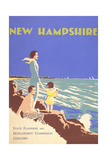New Hampshire Travel Poster