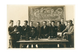 Boys School Science Class Picture