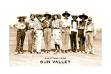 Greetings from Sun Valley  Cowgirls