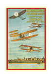 Vintage Air Show Poster