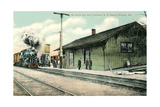 Railroad Depot  Sullivan  Missouri