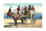 Sicilian Cart and Horse