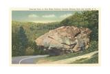 Nose-End Rock  Blue Ridge Parkway  Linville