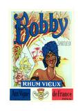 Bobby  Rhum Vieux Label