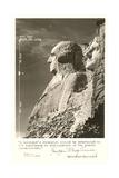 Borglum Quote and Mt Rushmore