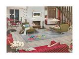 Odd Modern Living Room