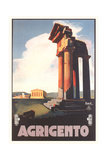 Travel Poster for Agrigento