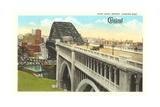 Bridge over Cuyahoga River  Cleveland