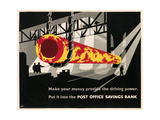 Poster for Post Office Savings Bank