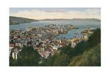 View over Bergen  Norway