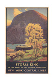Travel Poster for Hudson Highlands
