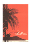 Travel Poster for Biltmore Hotel