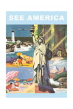 Travel Poster  See America