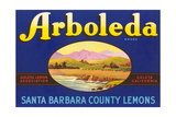 Arboleda Lemon Label