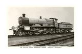 Six Coupled Passenger Train Engine