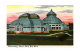Conservatory  Bronx Park